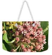 Milkweed Flowers In Bud Weekender Tote Bag
