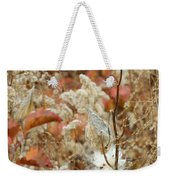 Milkweed In Autumn Weekender Tote Bag