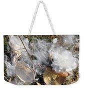 Milkweed Landing Weekender Tote Bag