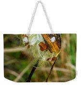 Milkweed Pod Weekender Tote Bag