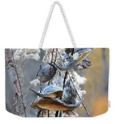 Milkweeds In Autumn Weekender Tote Bag