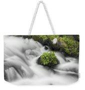 Milky Stream Weekender Tote Bag