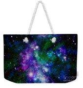 Milky Way Abstract Weekender Tote Bag