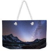 Milky Way And Zodiacal Light Ove Weekender Tote Bag