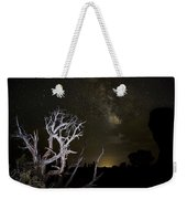 Milky Way Over Arches National Park Weekender Tote Bag