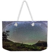 Milky Way Over Red Rock Canyon Weekender Tote Bag