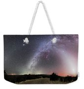 Milky Way, Zodiacal Light And Other Weekender Tote Bag