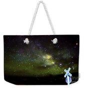 Milkyway  Crossing Blur Weekender Tote Bag