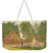 Mill On The Thames At Mapledurham, 1860 Weekender Tote Bag