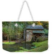 Mill Pond In Woods Weekender Tote Bag