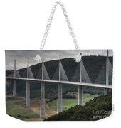 Millau Viaduct In France Weekender Tote Bag