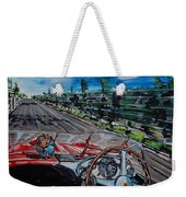 Mille Miglia On Board With Peter Collins Weekender Tote Bag