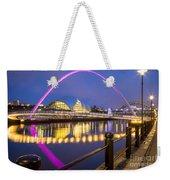 Millennium Bridge - Gateshead Weekender Tote Bag