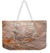 million years ago 2 - An enormeous shell fossile in top of cova des coloms in Es Migjorn - Menorca Weekender Tote Bag