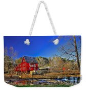 Historic Millmore Mill Shoulder Bone Creek Weekender Tote Bag