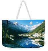 Mills Lake Weekender Tote Bag by Eric Glaser