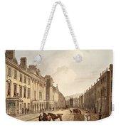 Milsom Street, From Bath Illustrated Weekender Tote Bag
