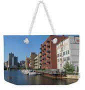 Milwaukee River Architechture 1 Weekender Tote Bag