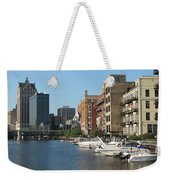 Milwaukee River Architecture 2 Weekender Tote Bag