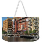 Milwaukee River Architecture 4 Weekender Tote Bag