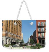 Milwaukee River Architecture 5 Weekender Tote Bag