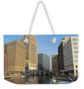 Milwaukee River Theater District 2 Weekender Tote Bag