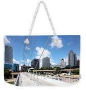 Milwaukee Wisconsin Skyline Weekender Tote Bag