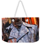 Mime In Silver On Bourbon St. Weekender Tote Bag