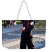 Mime Performer On The Street Weekender Tote Bag