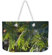 Mimosa At Sunset Weekender Tote Bag