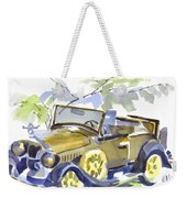 Mimosa Tree With Model A Weekender Tote Bag