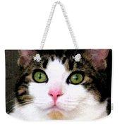 Mina's Green Eyes Weekender Tote Bag