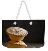 Mince Pie Stack Weekender Tote Bag