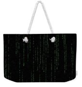 Mind Of The Matrix Weekender Tote Bag