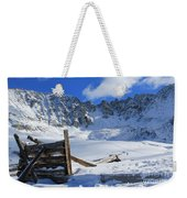 Mine Relics In The Snow Weekender Tote Bag