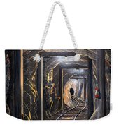 Mine Shaft Mural Weekender Tote Bag