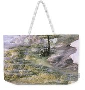 Minerva Springs Terraces Yellowstone National Park Weekender Tote Bag