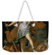 Minerva Victorious Over Ignorance Weekender Tote Bag