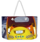 Mini-cab Weekender Tote Bag