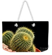 Mini Cactus In A Pot Weekender Tote Bag