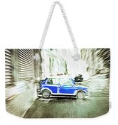 Mini Car Weekender Tote Bag by Tom Gowanlock