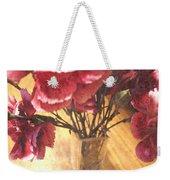 Mini Carnation Bouquet Weekender Tote Bag