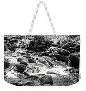 Mini Cascades Smoky Mountains Bw Weekender Tote Bag