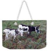 Mini Donkeys Weekender Tote Bag