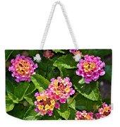 Mini Flowers Weekender Tote Bag