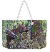 Mini Moose Weekender Tote Bag