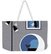 Mini Space Cat Weekender Tote Bag