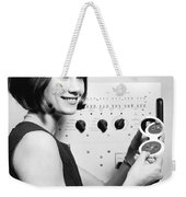 Miniature Computer Components Weekender Tote Bag