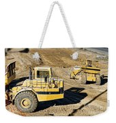 Miniature Construction Site Weekender Tote Bag