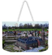 Miniature Friedenspalast Weekender Tote Bag